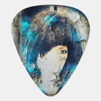 I'm with Wig Blue Guitar Picks