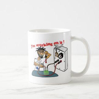 I'm working on it coffee mug