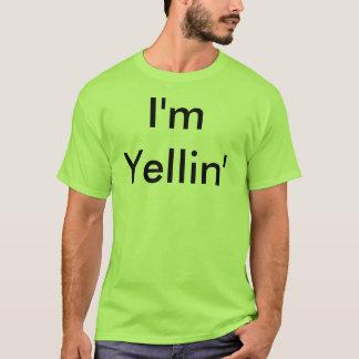 I'm Yellin' Basic Kermit Green Tee