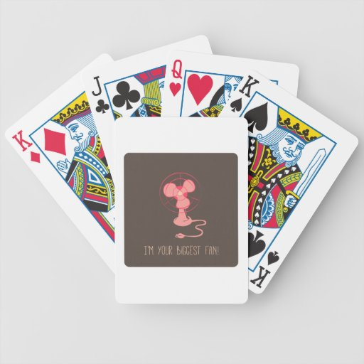 Im Your Biggest Fan Bicycle Poker Deck