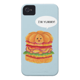 I'm Yummy! - Burger Series Case-Mate iPhone 4 Cases