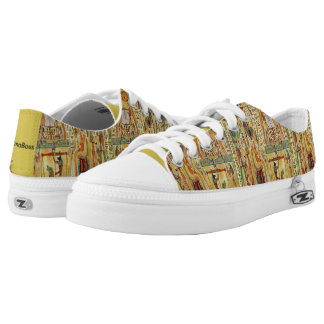 Ima Boss Afrocentric  Low Top Shoes