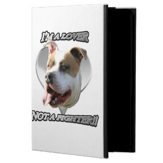 I'ma lover pitbull dog iPad air case