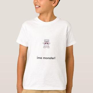 Ima monster T-shirt (white)