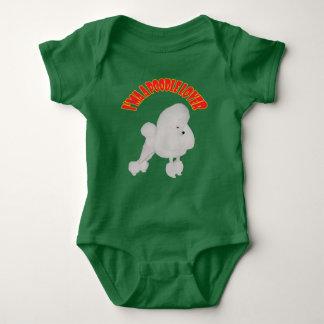 I'ma Poodle Lover Baby Bodysuit