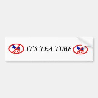 image2, image2, IT'S TEA TIME Bumper Sticker