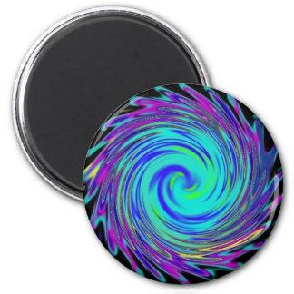 Image2 space animal spine 6 cm round magnet