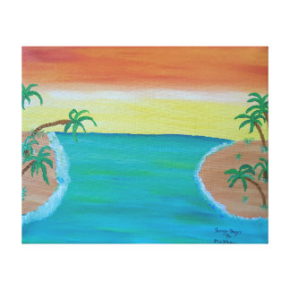 Image 600-dpi 20'x16'Picture Sunny Days Canvas Print