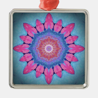 image hippy flower christmas ornament