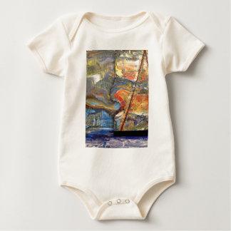 image in acrylic baby bodysuit