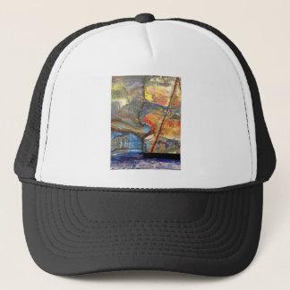 image in acrylic trucker hat