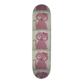 image of a cat skate board decks