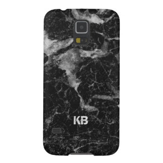 Image Of Black & Gray Marble Texture Galaxy S5 Cover