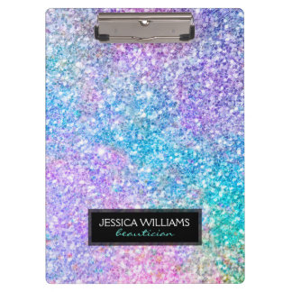 Image Of Colorful Glitter Clipboard