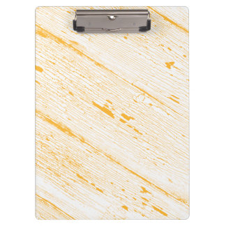 Image of Cracked Paint in Yellow And White Clipboard