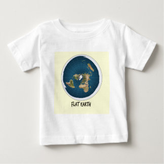 Image Of Flat Earth Baby T-Shirt