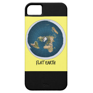 Image Of Flat Earth iPhone 5 Case
