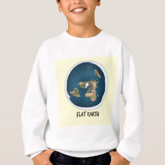 Image Of Flat Earth Sweatshirt