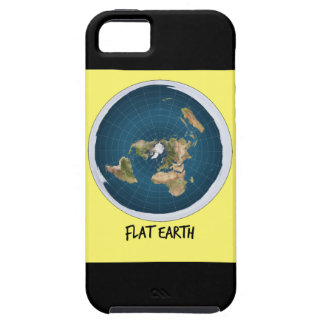 Image Of Flat Earth Tough iPhone 5 Case