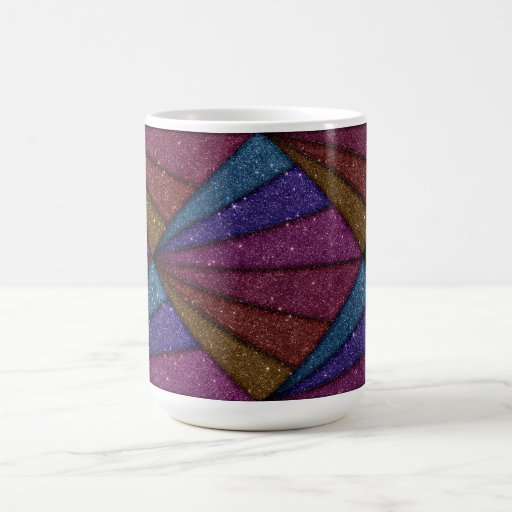 Image of Geometrical Glitter Coffee Mugs