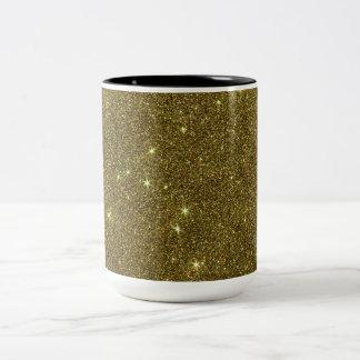 Image of gold Glitter Mugs