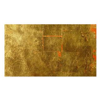 Image of Gold Leaf Surface, Unfinished Pack Of Standard Business Cards