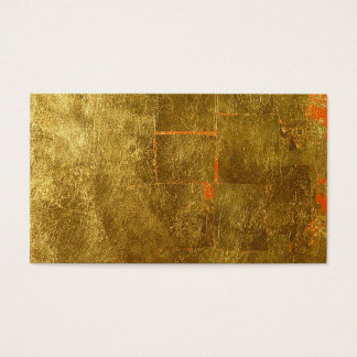 Image of Gold Leaf Surface, Unfinished Business Card
