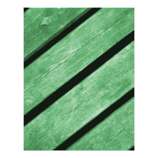 Image of Green Planks of Wood Flyers