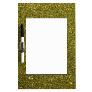 Image of greenish yellow glitter Dry-Erase boards