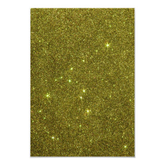 Image of greenish yellow glitter invitations