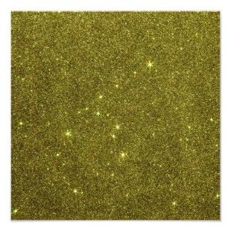 Image of greenish yellow glitter art photo