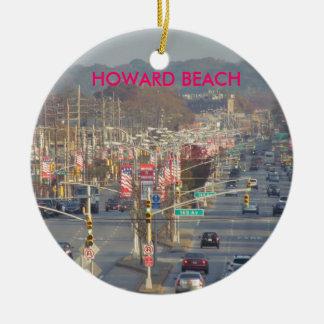 IMAGE OF HOWARD BEACH ROUND CERAMIC DECORATION