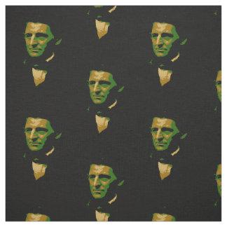 Image of Poet Ralph Waldo Emerson Fabric