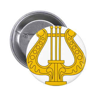 Image USSR military musicians insignia 1936 Pinback Buttons