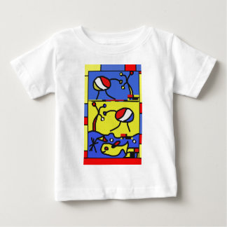 Image with fish modern art baby T-Shirt