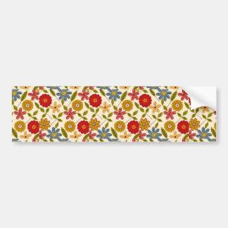 imagem com flores bumper stickers