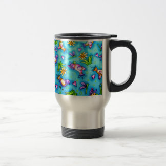 imagem com passarinhos mugs