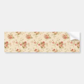 imagem com rosas bumper sticker