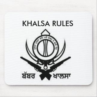 images2, KHALSA RULES Mouse Pad