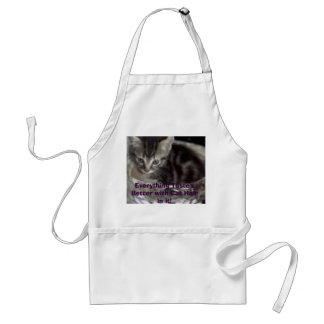 images, Everything Taste's Better with Cat Hair... Standard Apron