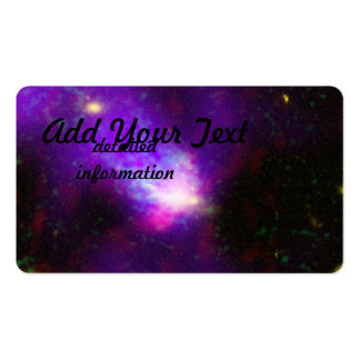 Images from Several Telescopes Combined to Show Pack Of Standard Business Cards