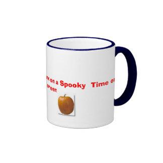 images,  Have a Wonderful Time on a Spooky  Tim... Ringer Mug