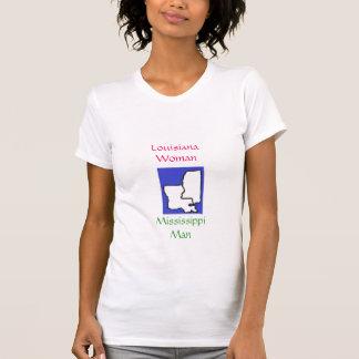 images, Louisiana Woman, Mississippi Man T-Shirt