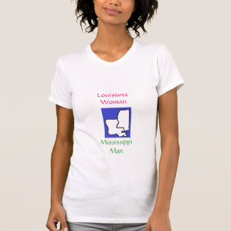 images, Louisiana Woman, Mississippi Man Tee Shirts