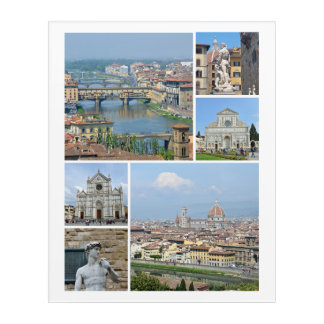 Images of Florence Acrylic Print