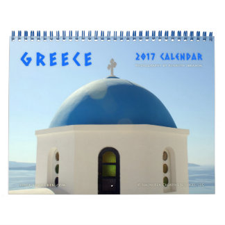 Images of Greece Wall Calendar