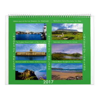 Images of Ireland for Irish Calendar 2017