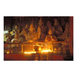 Images of Lamas at the Sara Monastery, Lhasa, Art Photo