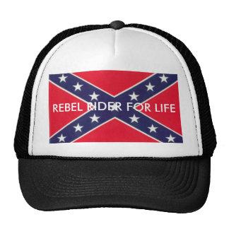 images, REBEL RIDER FOR LIFE Mesh Hat