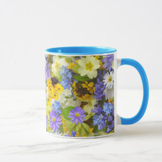 images with flowers mug